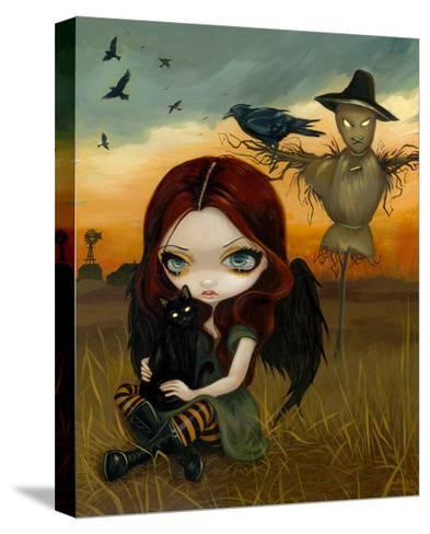The Scarecrow-Jasmine Becket-Griffith-Stretched Canvas Print