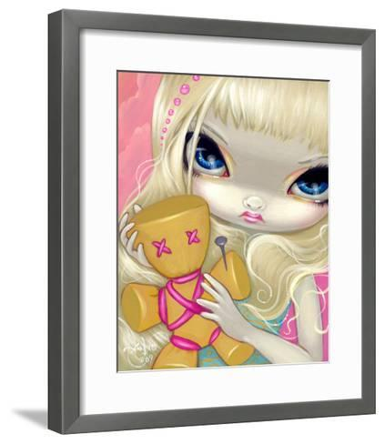 Voodoo in Pink-Jasmine Becket-Griffith-Framed Art Print