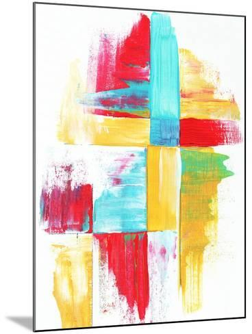 Quilt Like Pattern Abstract-Megan Aroon Duncanson-Mounted Art Print