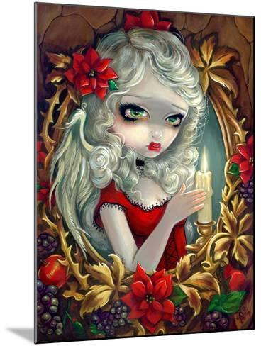 Christmas Candle-Jasmine Becket-Griffith-Mounted Art Print