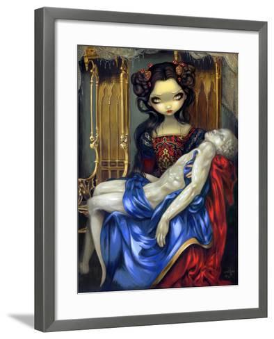 I Vampiri: Pieta-Jasmine Becket-Griffith-Framed Art Print