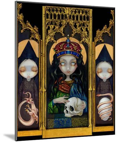 Alchemical Queen-Jasmine Becket-Griffith-Mounted Art Print