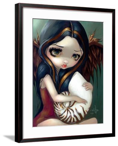 Nautilus Angel-Jasmine Becket-Griffith-Framed Art Print