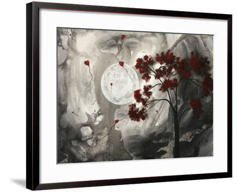 Whispering To The Moon-Megan Aroon Duncanson-Framed Art Print