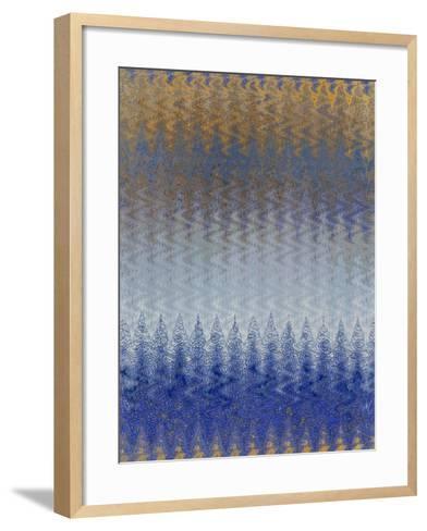 Out of the Blue II-Ricki Mountain-Framed Art Print