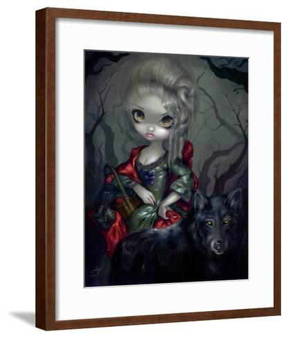 Once Upon a Midnight Dreary-Jasmine Becket-Griffith-Framed Art Print