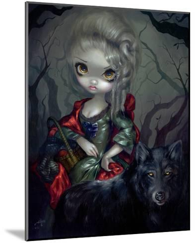 Once Upon a Midnight Dreary-Jasmine Becket-Griffith-Mounted Art Print