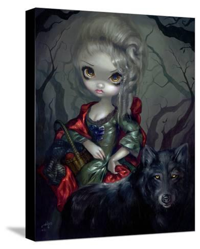 Once Upon a Midnight Dreary-Jasmine Becket-Griffith-Stretched Canvas Print