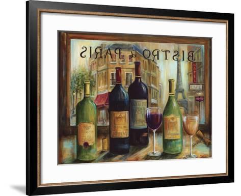 Bistro De Paris-Marilyn Dunlap-Framed Art Print