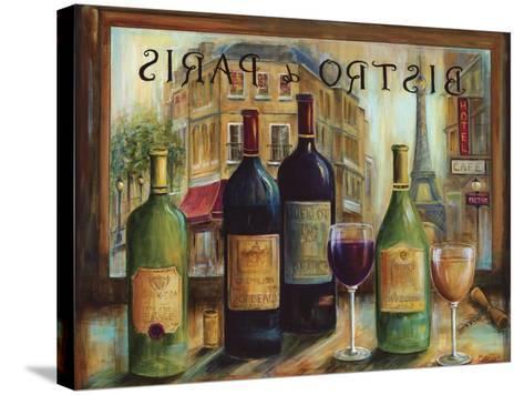 Bistro De Paris-Marilyn Dunlap-Stretched Canvas Print