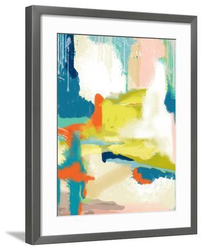 Deconstructed Landscape II-Jan Weiss-Framed Art Print