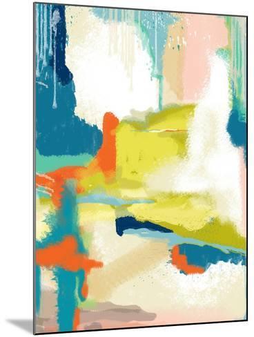 Deconstructed Landscape II-Jan Weiss-Mounted Art Print