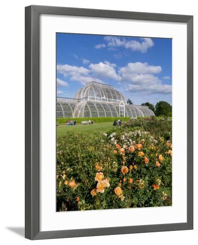 Kew Palm House-Charles Bowman-Framed Art Print
