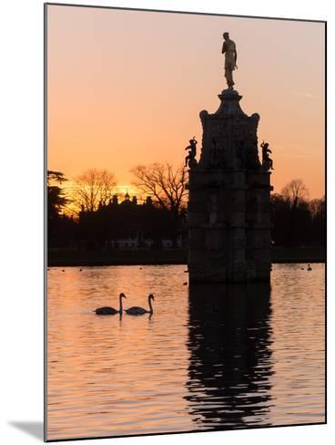 Diana Fountain Bushey Park-Charles Bowman-Mounted Photographic Print