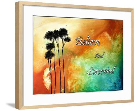 Believe and Succeed-Megan Aroon Duncanson-Framed Art Print