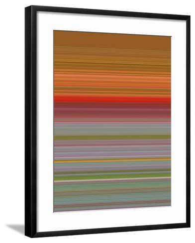 A R T Wave 59-Ricki Mountain-Framed Art Print