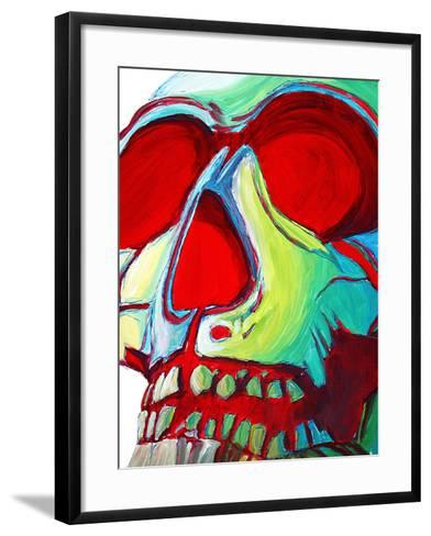 Skull-Megan Aroon Duncanson-Framed Art Print