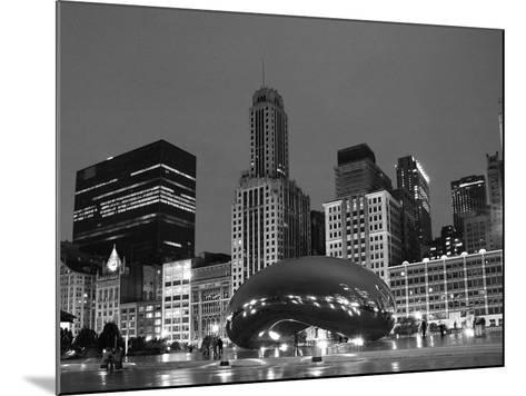 Chicago Black White-Patrick Warneka-Mounted Photographic Print