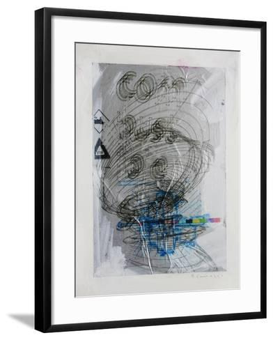 Combustible-Enrico Varrasso-Framed Art Print