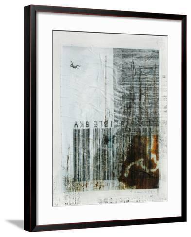 Combustible Sky-Enrico Varrasso-Framed Art Print