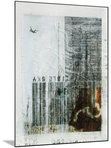 Combustible Sky-Enrico Varrasso-Mounted Art Print