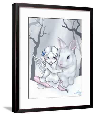 Snow Bunny-Jasmine Becket-Griffith-Framed Art Print