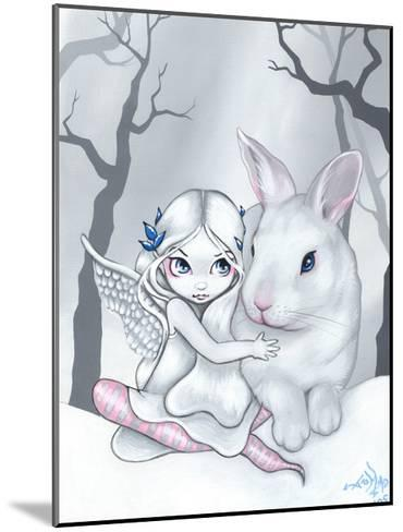 Snow Bunny-Jasmine Becket-Griffith-Mounted Art Print