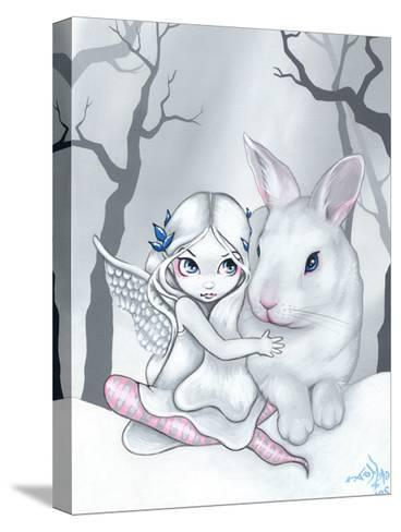 Snow Bunny-Jasmine Becket-Griffith-Stretched Canvas Print