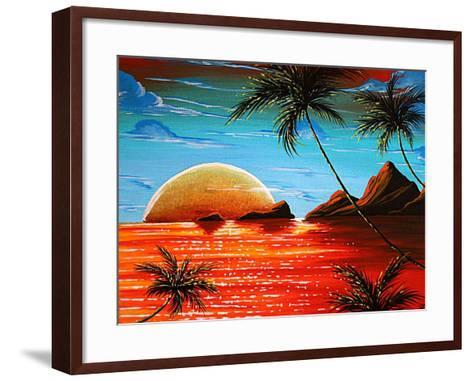 Tropical Fusion-Megan Aroon Duncanson-Framed Art Print
