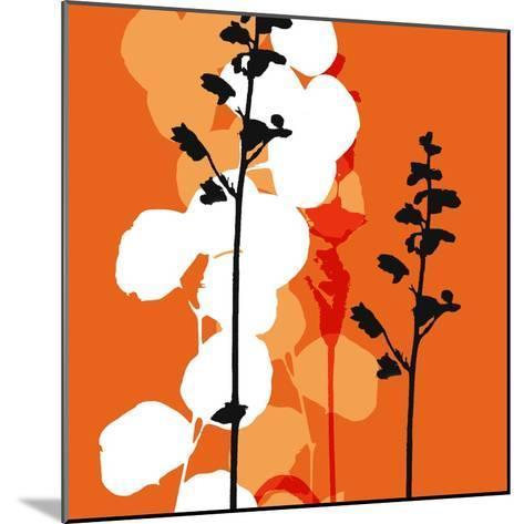Saffron Indignation-Jan Weiss-Mounted Art Print