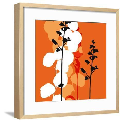 Saffron Indignation-Jan Weiss-Framed Art Print