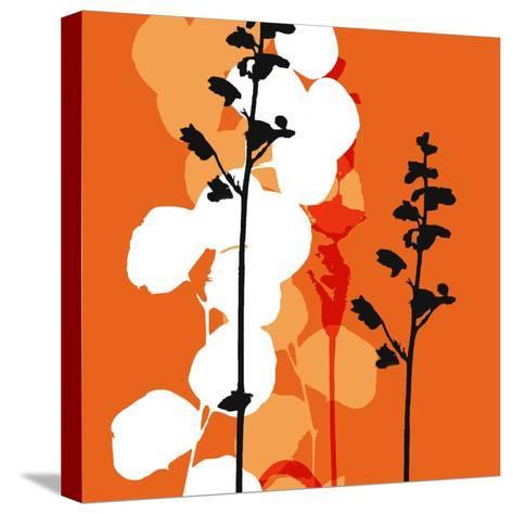 Saffron Indignation-Jan Weiss-Stretched Canvas Print