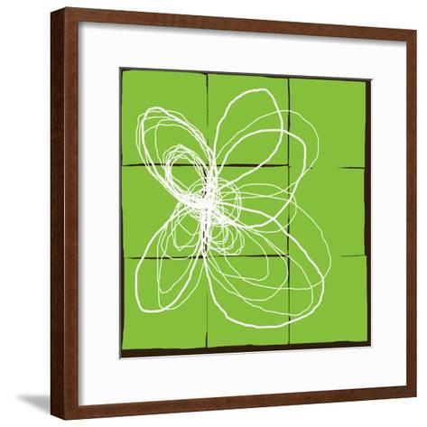 Atomic Floral Three-Jan Weiss-Framed Art Print