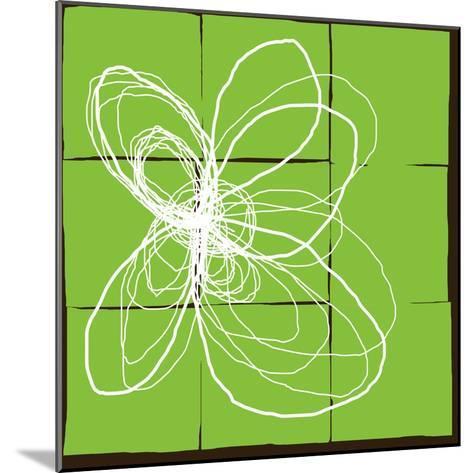 Atomic Floral Three-Jan Weiss-Mounted Art Print