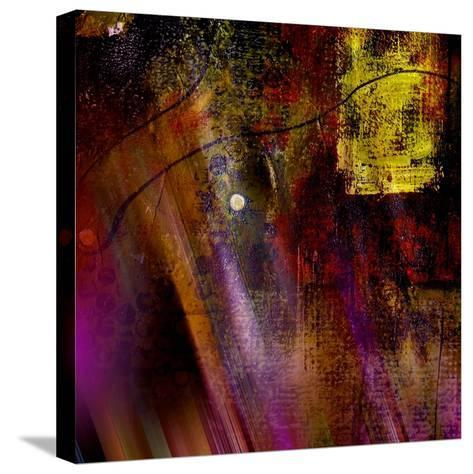 Purple Rays-Ruth Palmer-Stretched Canvas Print