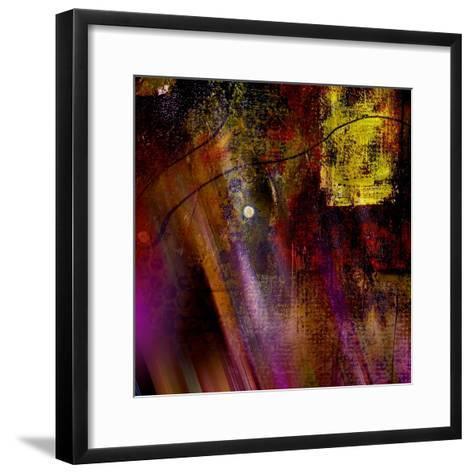 Purple Rays-Ruth Palmer-Framed Art Print