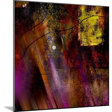 Purple Rays-Ruth Palmer-Mounted Art Print