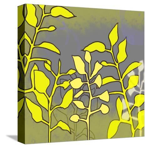 Graphic Floral Four-Jan Weiss-Stretched Canvas Print