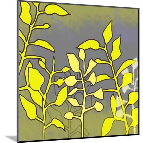 Graphic Floral Four-Jan Weiss-Mounted Art Print