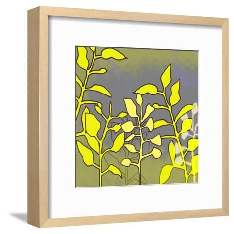 Graphic Floral Four-Jan Weiss-Framed Art Print