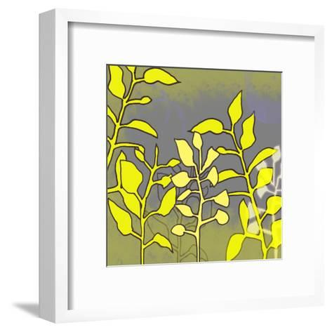 Graphic Floral Four-Jan Weiss-Framed Art Print