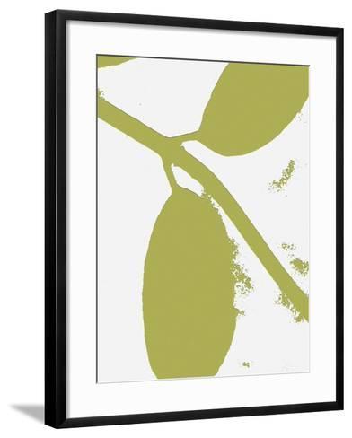 Bare Naked Leaves-Ruth Palmer-Framed Art Print