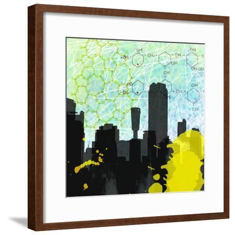 Urban Math-Jan Weiss-Framed Art Print