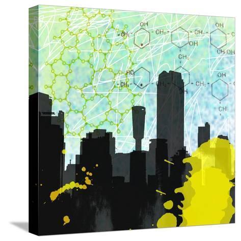 Urban Math-Jan Weiss-Stretched Canvas Print