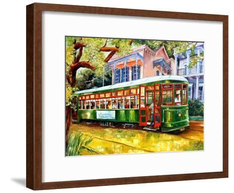 Streetcar in New Orleans-Diane Millsap-Framed Art Print