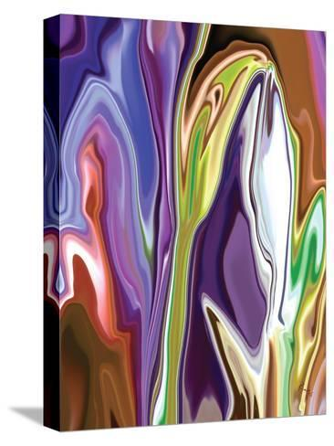 Purple Spring-Rabi Khan-Stretched Canvas Print
