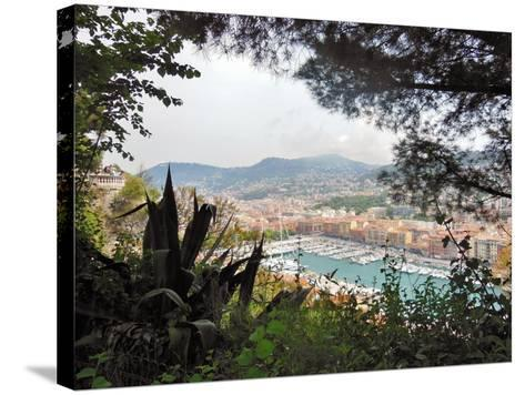Nice Harbor-Marilyn Dunlap-Stretched Canvas Print
