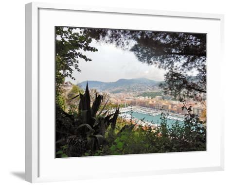 Nice Harbor-Marilyn Dunlap-Framed Art Print
