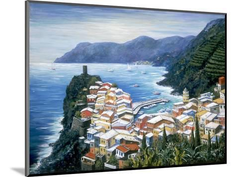 Rooftops of Vernazza-Marilyn Dunlap-Mounted Photographic Print