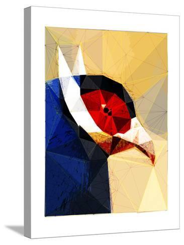 Exotic Bird-Enrico Varrasso-Stretched Canvas Print